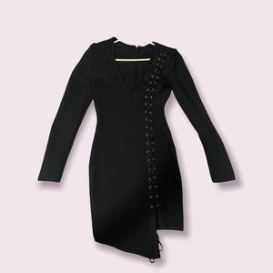 Very sexy blackdress , unique and one of its own!
